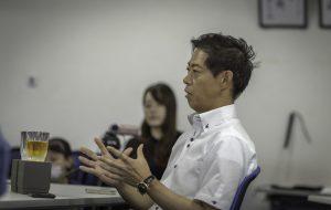 錦城護謨株式会社 代表取締役社長 太田泰造